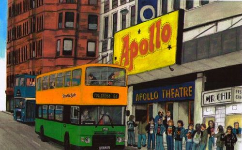 painting of glasgow apollo