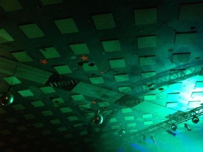 star-studded ceiling of the Barrowland