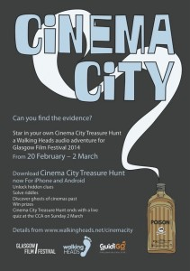 Cinema City flyer