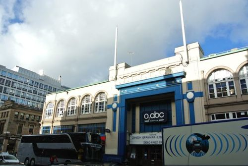Blue skies over O2 ABC