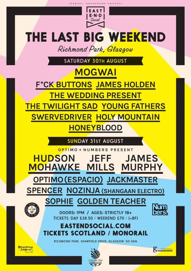 Last Big Weekend poster