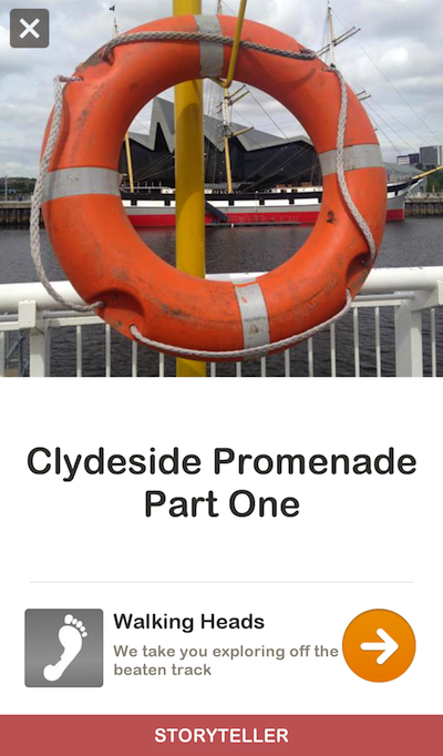 Clydeside Promenade Guidigo Screengrab