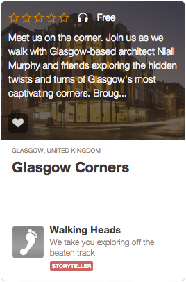 Glasgow Corners on Guidigo