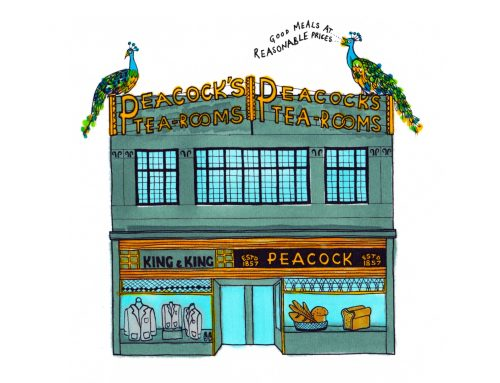 Peacock's Tea Room: disappearing Art Deco