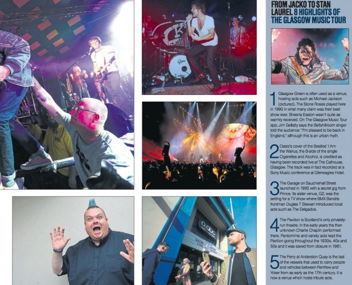 Sound City: Glasgow Music Tour review by Alan Tennie in Sunday Herald
