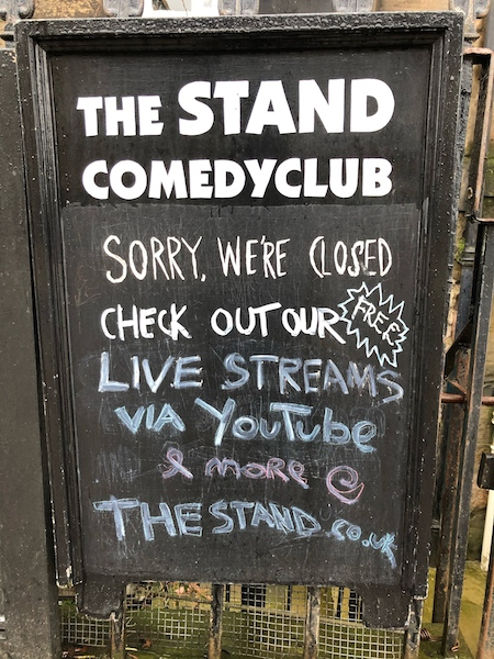 Stand Comedy Club symbolises Edinburgh Comedy in time of Covid: Fay Young
