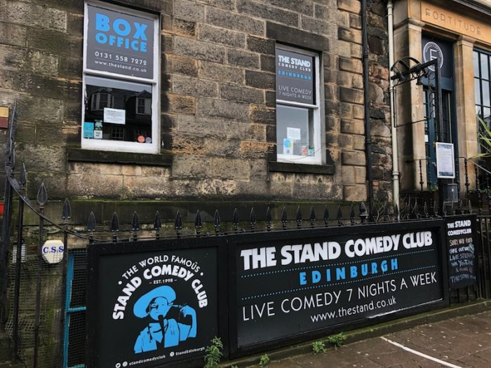 If we want a laugh we must go online: The Stand where Edinburgh Comedy tour finishes: Fay Young